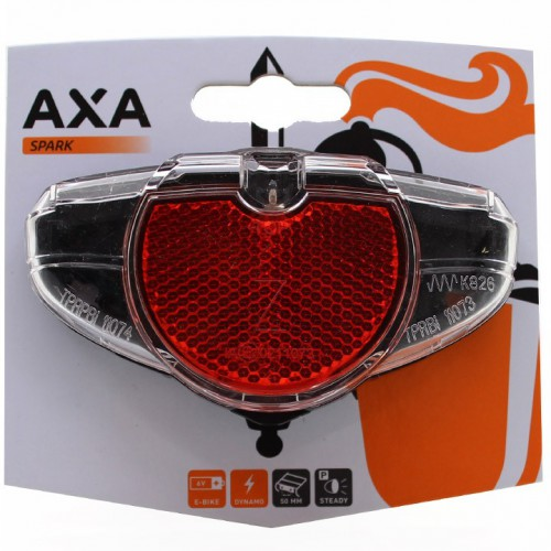 achterlicht axa spark steady led naafdynamo 5080mm