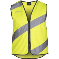 Vest Ww Roadie Reflectie Geel Xl