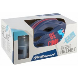 Helm Junior Polisport Be cool + bidon S 52-56cm