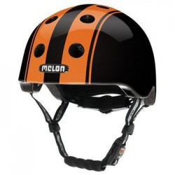Helm Melon Double Orange Black M-L (52-58cm) oranje/zwart