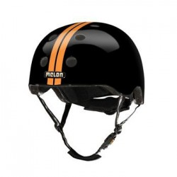 Helm Melon Straight Orange Black XXS-S (46-52cm)oranje/zw