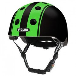 Helm Melon Double Green Black XL-2XL (58-63cm) groen/zwart