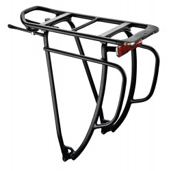Racktime drager 26/28 inch Rt Shine Evo Tour staal zwart
