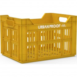 Urban Proof Fietskrat 30L Ocre yellow - RECYCLED