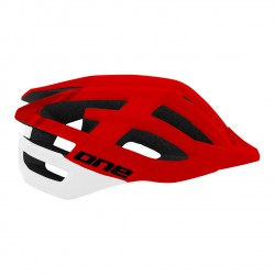 One helm mtb Race s/m rood wit